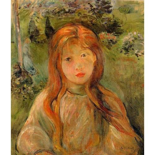 Little Girl at Mesnil