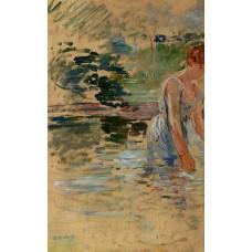 The Bath at Mesnil