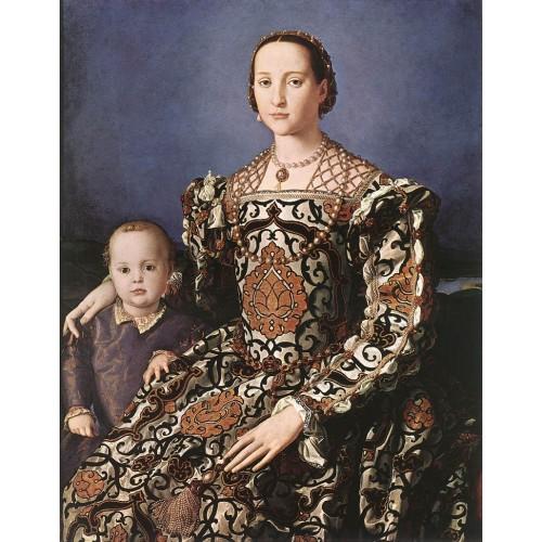 Eleonora of Toledo with her son Giovanni de' Medici