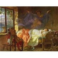 A dream of a girl before a sunrise 1833