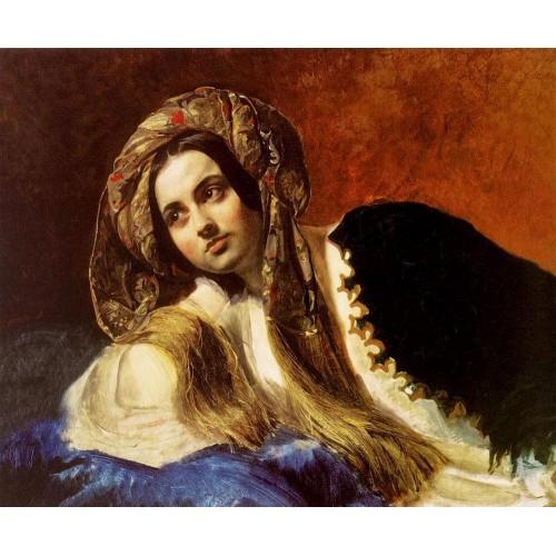 A turkish girl 1838