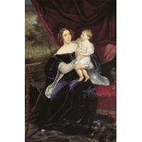 Countess o i orlova davydova and her daughter