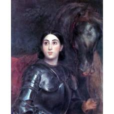 Juliet tittoni as jeanna d ark 1852