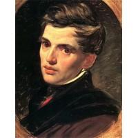 Portrait of alexander bruloff 1827