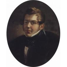 Portrait of an architect m o lopyrevskiy