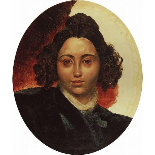 Portrait of baroness i i klodt