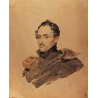 Portrait of captain a m kostinich