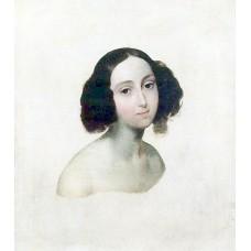 Portrait of grand duchess olga nikolaevna
