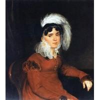 Portrait of m a kikina 1822