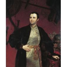 Portrait of m a obolensky 1846