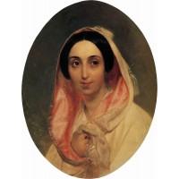 Portrait of princess a a bagration 1