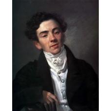 Portrait of the actor a n ramazanov