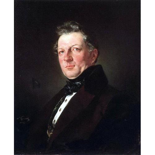Portrait of the architect a bolotov