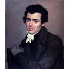 Portrait of the architect k a ton 1827