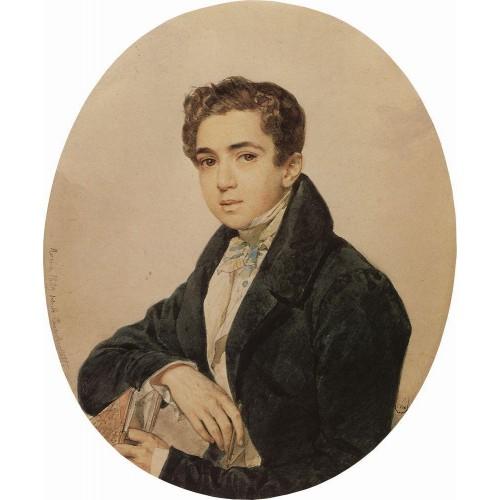 Portrait of the artist prince g g gagarin 1