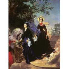 Portrait of the shishmariov sisters