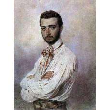 Portrait of vincenzo tittoni 1852