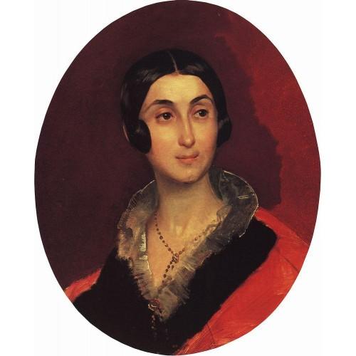 Portrait of ye i ton 1840
