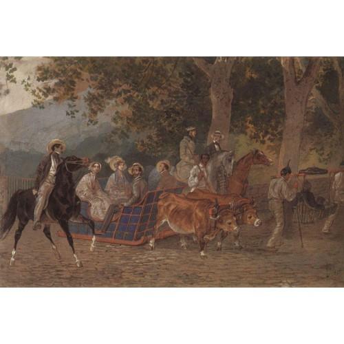 Promenade portrait of duke of leuchtenberg e mussart