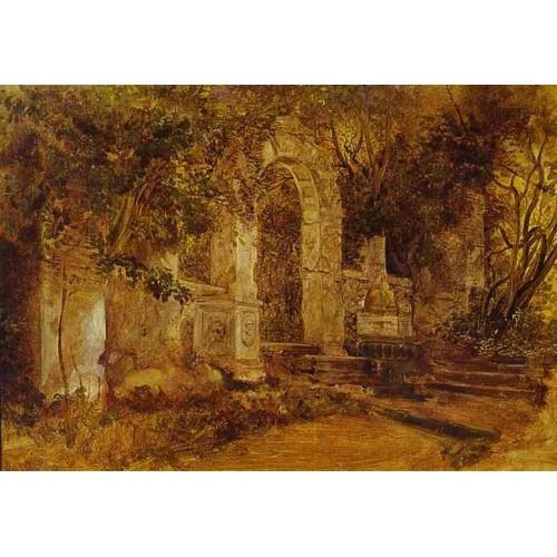 Ruins in park
