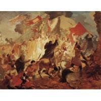 Siege of pskov by polish king stefan batory 1
