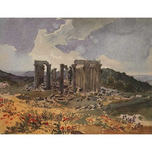 Temple of apollo in phigalia