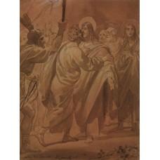 The judas kiss 1847