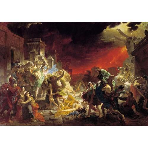 The last day of pompeii 1833