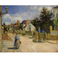 A Street in Pontoise