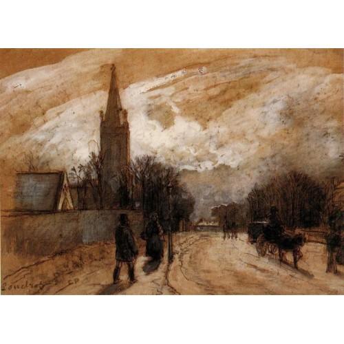 All Saints' Church Upper Norwood (Study)