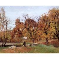 Autumn Landscape near Pontoise