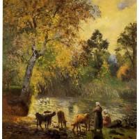 Autumn Montfoucault Pond