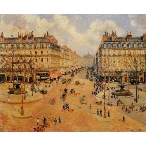 Avenue de l'Opera Morning Sunshine