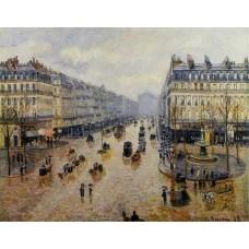 Avenue de l'Opera Rain Effect