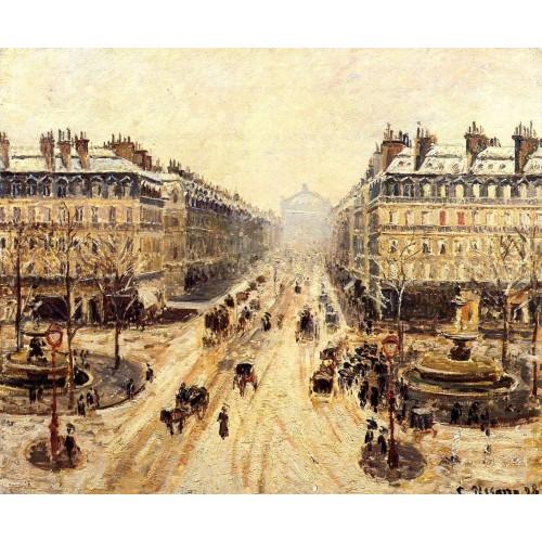 Avenue de l'Opera Snow Effect