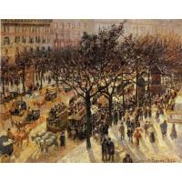 Boulevard des Italiens Afternoon