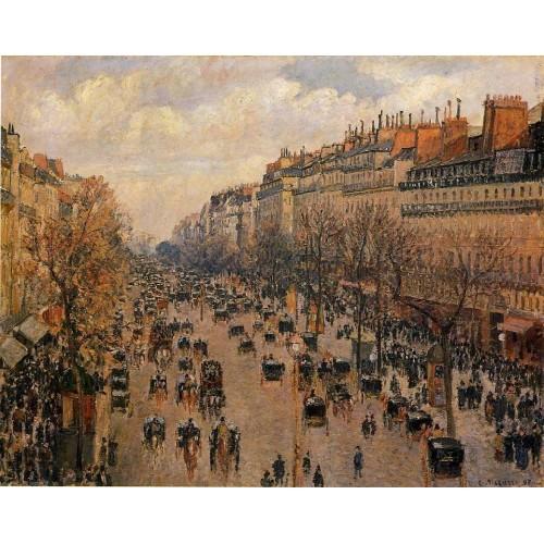 Boulevard Montmartre Afternoon Sunlight