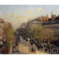 Boulevard Montmartre Sunset