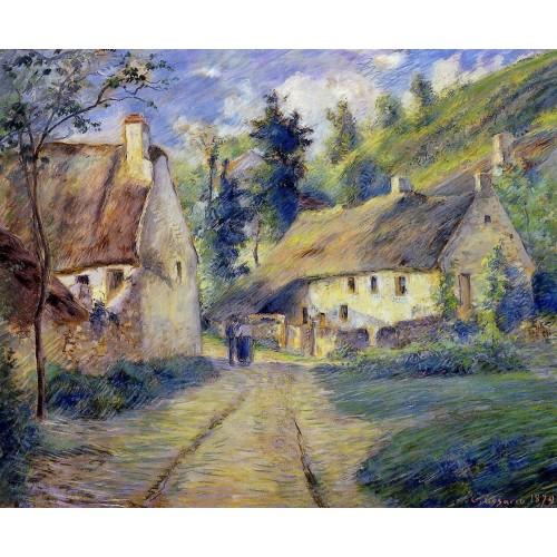 Cottages at Auvers near Pontoise