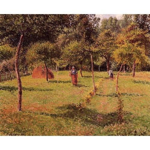 Enclosed Field at Eragny
