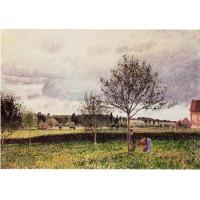 Eragny Landscape Le Pre