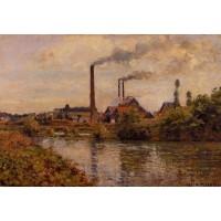 Factory at Pontoise 2