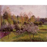 Flowering Apple Trees at Eragny 2