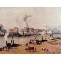 Fog Morning Rouen 2
