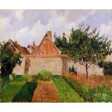 Garden at Eragny (study)