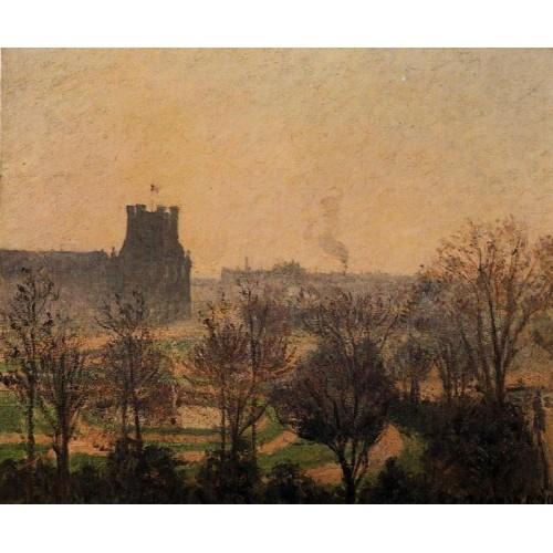 Garden of the Louvre Fog Effect