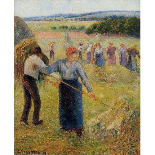 Haymaking at Eragny 1
