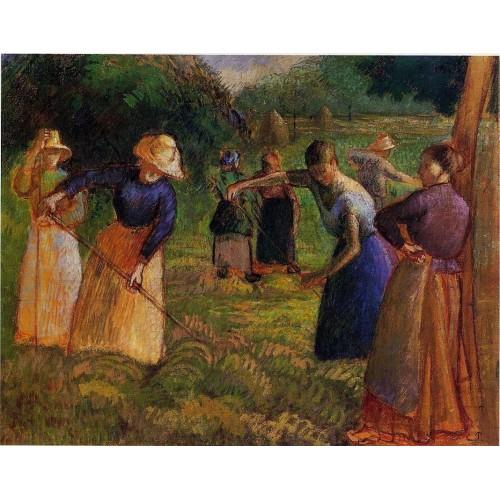 Haymaking at Eragny 2