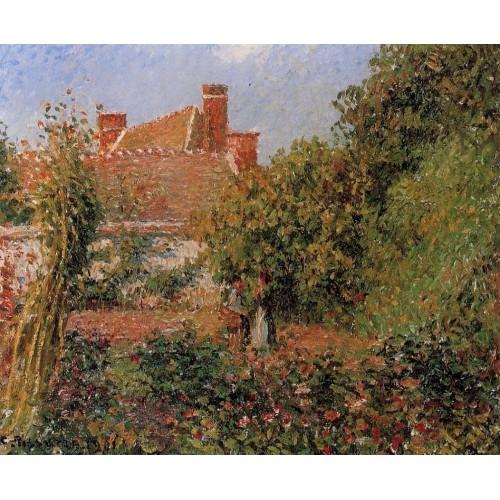 Kitchen Garden in Eragny Afternoon