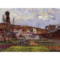 Kitchen Gardens at l'Hermitage Pontoise
